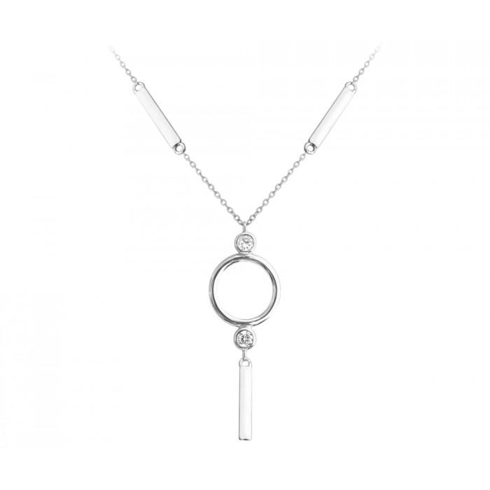 Naszyjnik srebrny z zawieszką