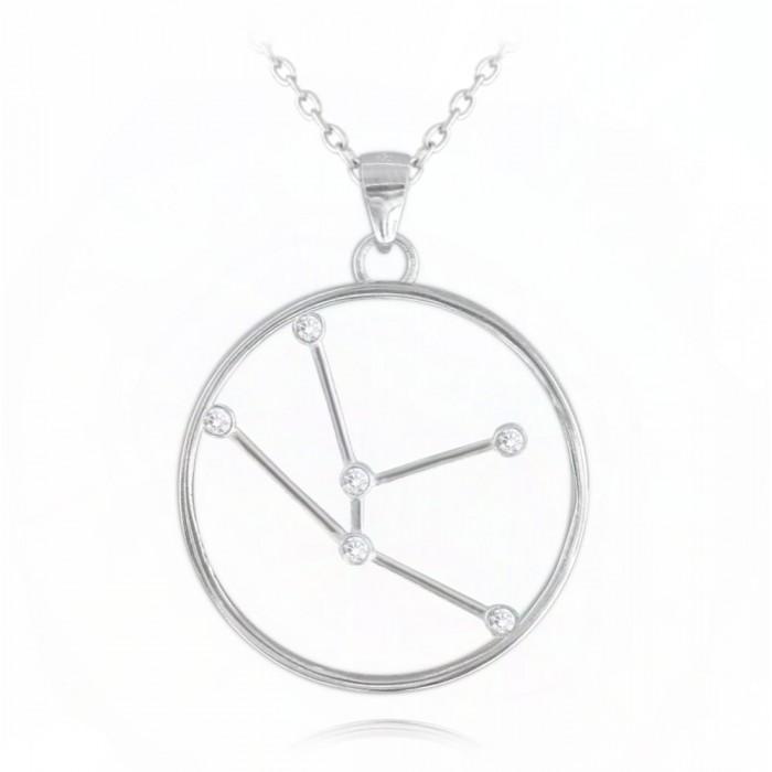 Naszyjnik srebrny znak zodiaku Stars - BYK