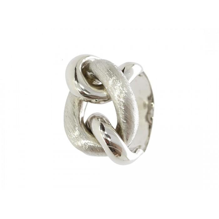 Pierścionek srebrny rodowany