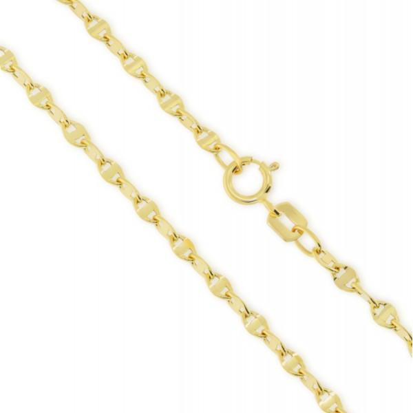 Łańcuszek złoty gucci poprzeczny