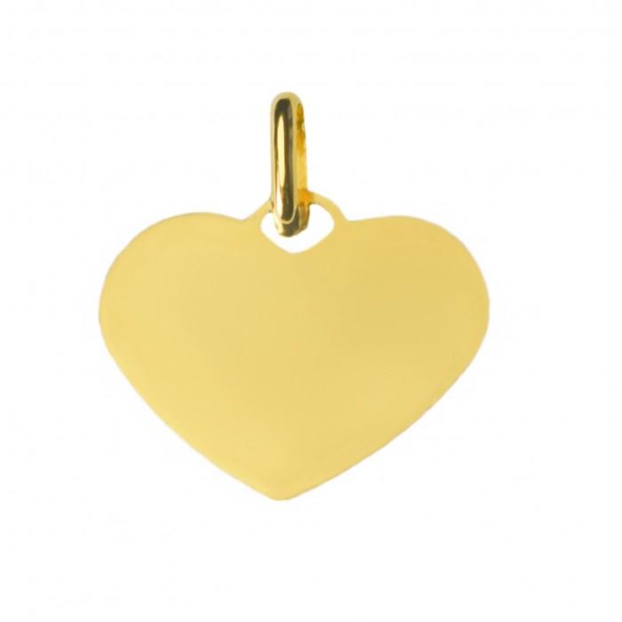 Zawieszka złota - serce